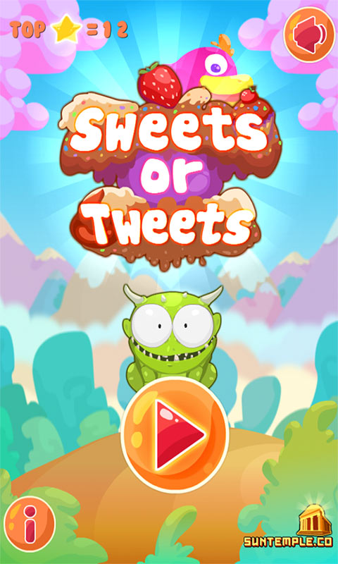 Sweets or Tweets Screenshot 1